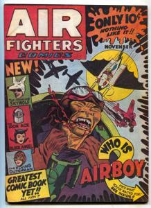 Air Fighters Comics #2 1973 Golden Age Reprint F/VF