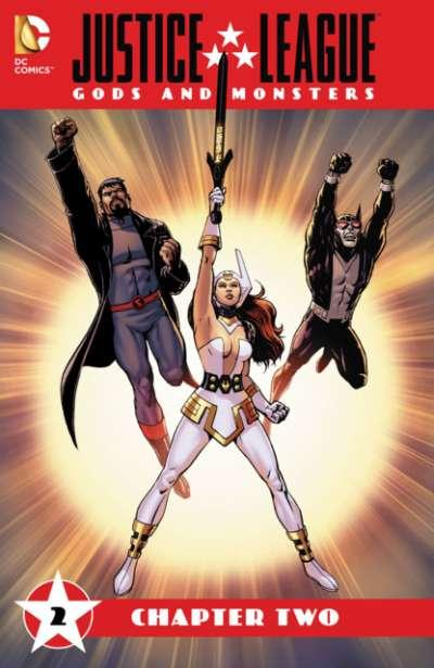 Justice League: Gods and Monsters #2, NM (Stock photo)