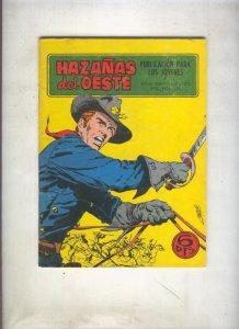 Hazañas del Oeste numero 172: Los rebeldes de Wyoming (Cesar)