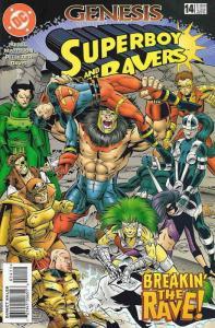 Superboy & the Ravers #14 FN; DC | save on shipping - details inside
