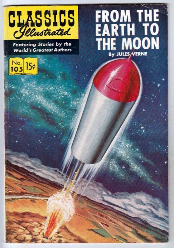 Classics Illustrated #105 (Mar-53) FN Mid-Grade