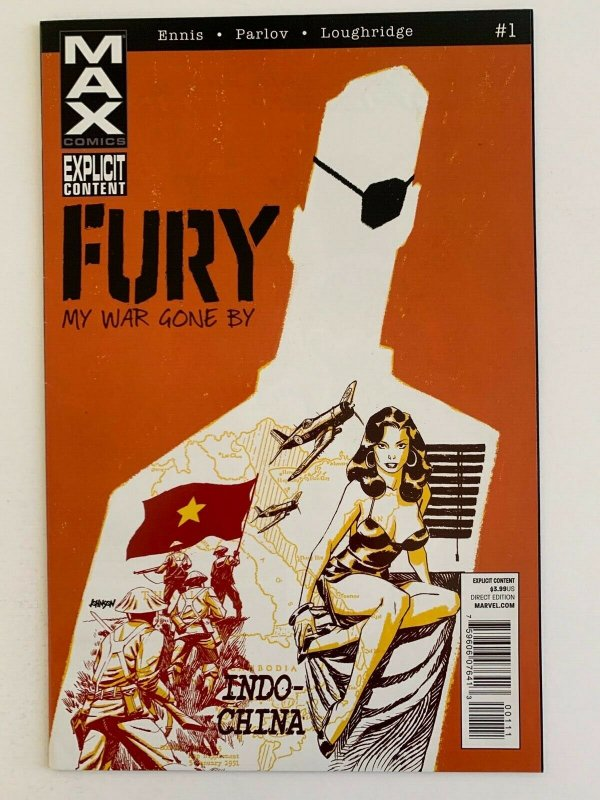 Fury My War Gone By 1 Marvel Max Comics 2012 VF NM