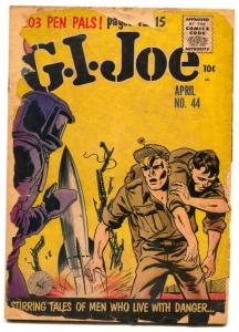 G.I. Joe #44 1956- Silver Age- reading copy
