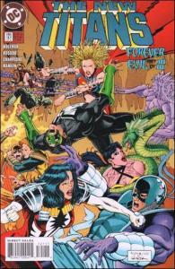 DC THE NEW TITANS #121 FN+ Error Edition