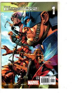 12 Ultimates Marvel Comics 2 # 1 2 3 4 5 6 7 9 10 Annual 1 + # 11 13  CR48