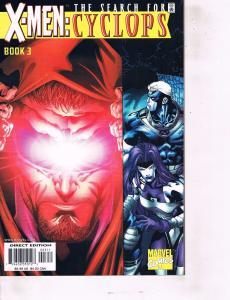 Lot Of 2 X-Men Search for Cyclops Marvel Comic Book #3 4  Iron Man AH8