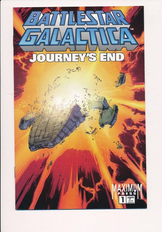 Battlestar Galactica, Journey's End #1,2,3 ~ Maximum Press ~ NM (HX527)