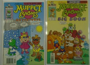 Muppet Babies Lot (2 DIFF) - 6.0 FN - 1992