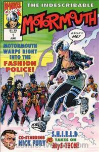 Marvel MOTORMOUTH #1 VF/NM