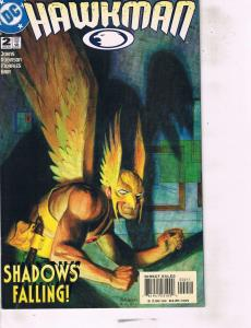 Lot Of 2 DC Comic Book Hawkman #2 and The Phantom #1 AB7
