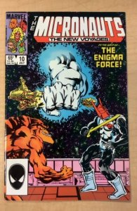 Micronauts: The New Voyages #10 (1985)