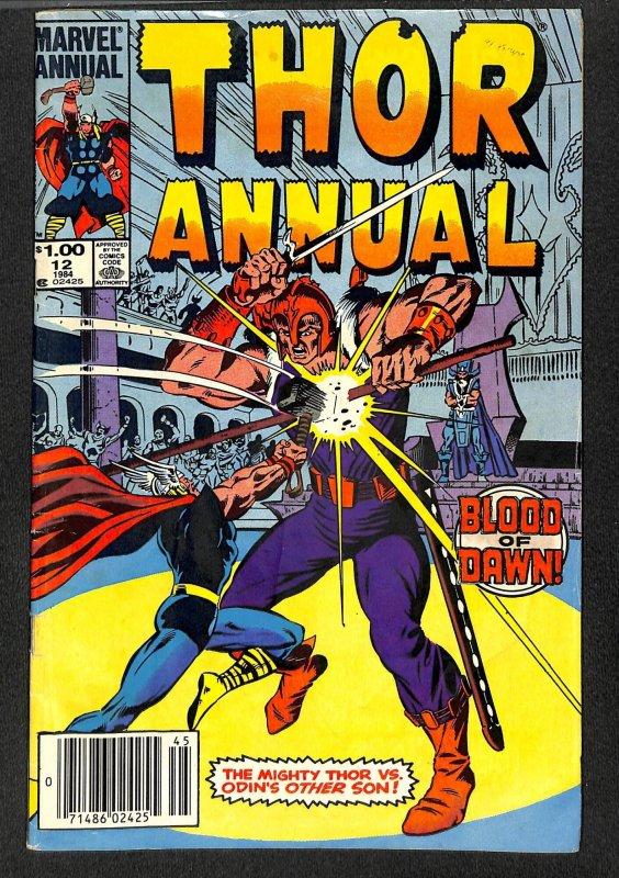 Thor Annual #12 VG 4.0