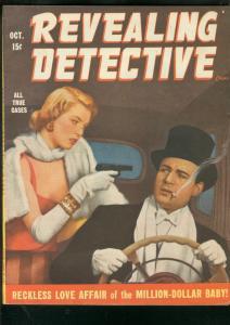 REVEALING DETECTIVE CASES-OCT 1948-SPICY GUNMOLL-PULP   VF