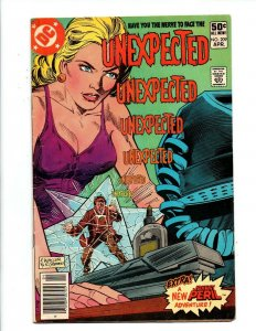 Unexpected #209 newsstand - DC Horror - 1981 - Very Good/Fine