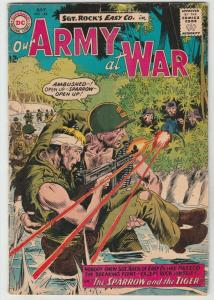 Our Army at War #144 (Jul-64) FN+ Mid-High-Grade Easy Company, Sgt. Rock