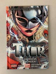 Thor Volume 1 Goddess of Thunder 2015 Hardcover Aaron Dauterman Molina