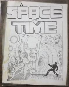 Space and Time Fanzine #3 Spring 1968 Al Saviuk Art Gordon Lizner Parodi