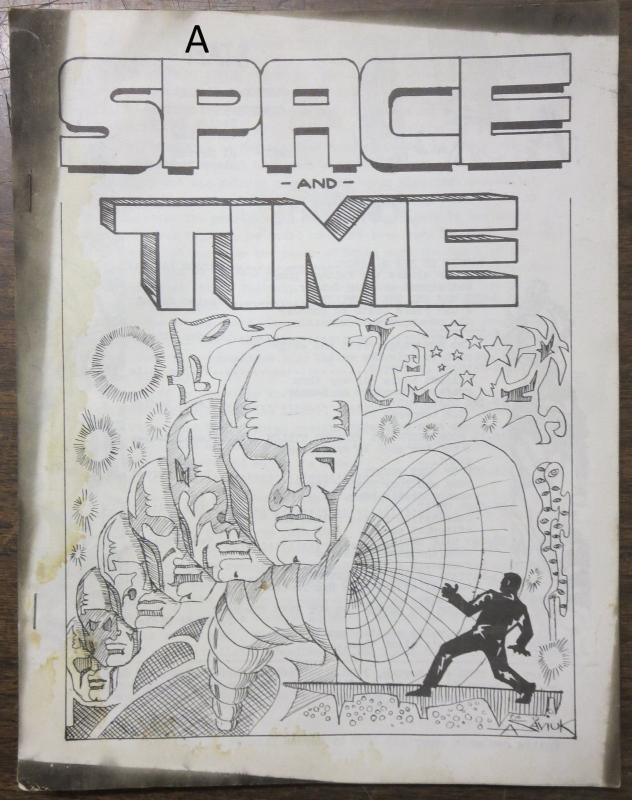Space and Time Fanzine #3 Spring 1968 Al Saviuk Art Gordon Lizner Parodi