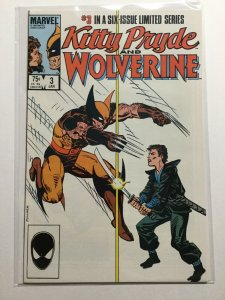 Kitty Pryde And Wolverine 3 Near Mint Nm Marvel