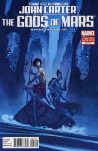 John Carter: The Gods of Mars #2 FN; Marvel | save on shipping - details inside