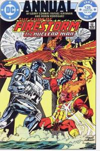 Fury of Firestorm (1982 series) Annual #1, VF+ (Stock photo)