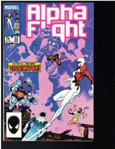 Alpha Flight #32 (Marvel, 1986)