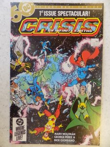 CRISIS ON INFINITE EARTHS # 1 DC HOT TV ACTION