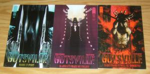 Gutsville #1-3 VF/NM complete series - simon spurrier - frazer irving set lot 2