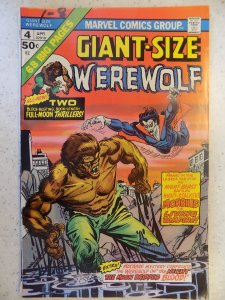 GIANT-SIZE WEREWOLF # 4 MARVEL BRONZE HORROR MORBIUS HOT