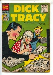 Dick Tracy #95 1956-Harvey-Chester Gould art-crime stories-Girl Friday-mug sh...