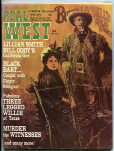 Real West Magazine April 1973-CHARLTON-ALEX TOTH-BUFFALO BILL VG