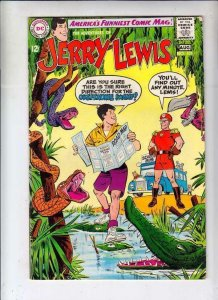 Jerry Lewis #107 Adventures of strict VF- 8.0 High-Grade  Tons more Jerry Lewis