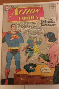 Action Comics #245 (DC, 1958) Condition: VG