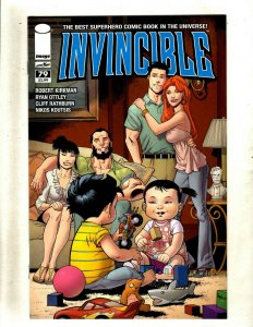Lot Of 10 Invincible Image Comic Books # 79 80 81 82 83 84 85 86 87 88 RP4