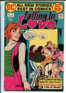 Falling In Love #134 1972- DC-African-American girl-1st 20¢ issue-VG