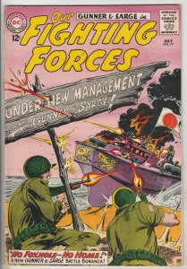 Our Fighting Forces #77 (Jul-63) FN/VF- Mid-High-Grade Gunner