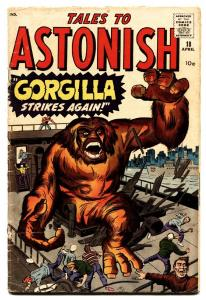 Tales To Astonish #18-1960-MARVEL-Kirby and Ditko horror art-comic book