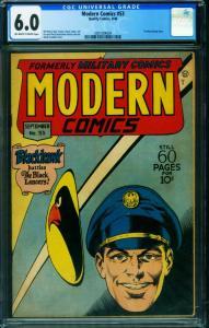 Modern Comics #53 CGG 6.0 1946- BLACKHAWK- TORCHY 2001004004