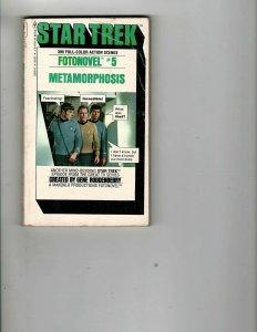3 Books Star Trek Fotonovel 5 Metamorphosis Golden Comics Digest Bedelia JK26