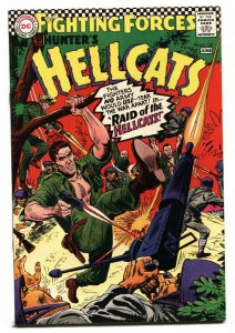 OUR FIGHTING FORCES #107 1967-DC-JOE KUBERT-CAPT HUNTER-HIGH GRADE