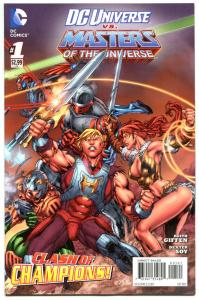 DC UNIVERSE vs MASTERS of the UNIVERSE #1 2 3 4, NM, He-man, Sword, 2013, 1-4