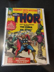 JOURNEY INTO MYSTERY #105 high grade EARLY THOR APPEARANCE