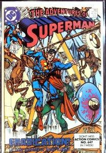 Adventures of Superman #460 (1989)