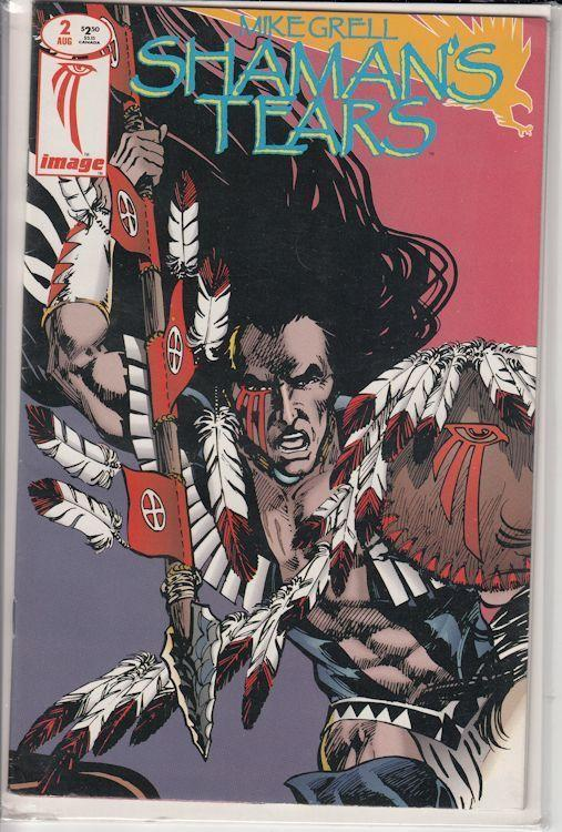 Shaman's Tears #1 & #2 (May/June 1993, Image) Mike Grell art and writing!