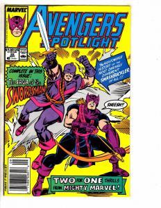 Lot Of 7 Avengers Spotlight Marvel Comic Books # 22 24 25 26 27 28 29 Hulk RM4