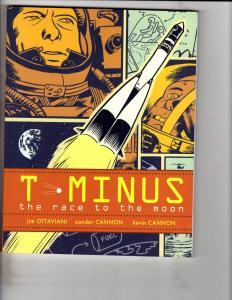 T-Minus The Race To The Moon Aladdin Paperbacks Simon Schuster Comic Book J163