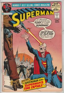 Superman #250 (Apr-72) VF/NM High-Grade Superman