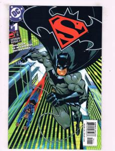 Lot Of 3 Superman Batman DC Comic Books # 1 (2 Copies, Variant) Annual # 1 TW15