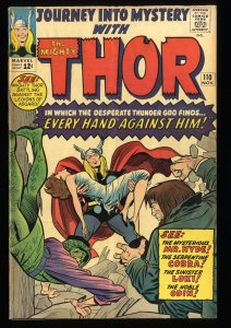 Journey Into Mystery #110 VG+ 4.5 Thor!