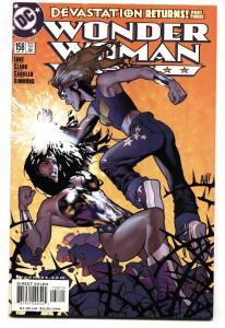 WONDER WOMAN #158 DC comic book Adam Hughes cover art VF/NM